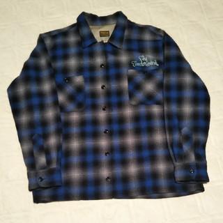 テンダーロイン(TENDERLOIN)のテンダーロイン ウールシャツ S キムタク着用刺繍あり(シャツ)