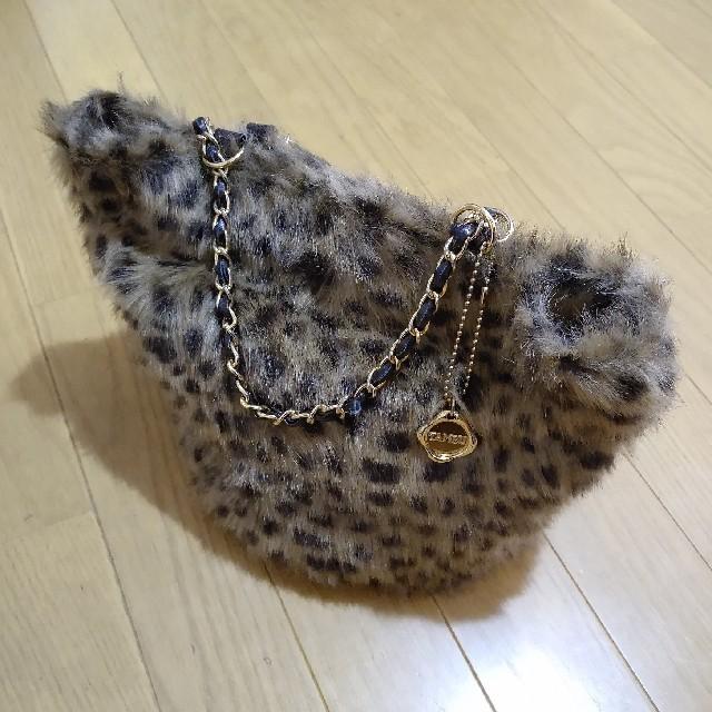 Odette e Odile(オデットエオディール)のオデットエオディール タンブー コラボ ファー バッグ レディースのバッグ(トートバッグ)の商品写真