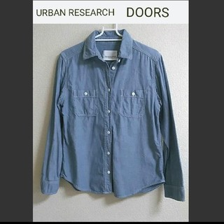 DOORS / URBAN RESEARCH - URBAN RESEARCH  DOORS ダンガリーシャツ フリーサイズ