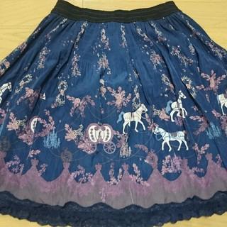 アクシーズファム(axes femme)のAxes femme 馬車のスカート(ひざ丈スカート)