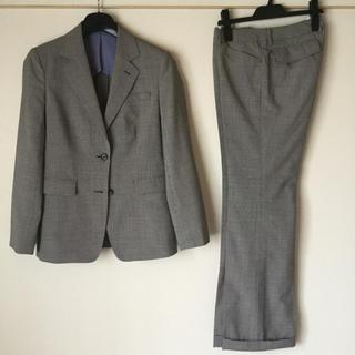 オリヒカ(ORIHICA)の【新品同様】オリヒカ パンツスーツ 9 グレー OL ビジネス 通勤 洗濯機可(スーツ)