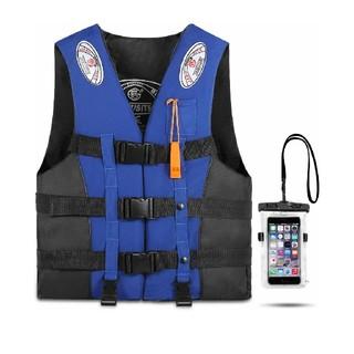 Reedark ライフジャケット スマホ防水ケース+フローティングベストセット (ウエア)