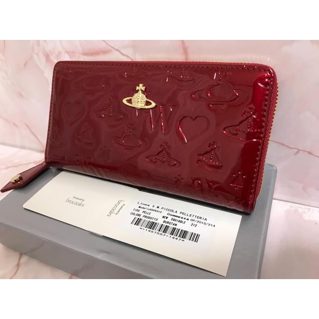 Vivienne Westwood(ヴィヴィアンウエストウッド)の赤エナメル長財布❤️ヴィヴィアンウエストウッド❤️新品・未使用 レディースのファッション小物(財布)の商品写真