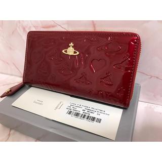 Vivienne Westwood - 赤エナメル長財布❤️ヴィヴィアンウエストウッド❤️新品・未使用