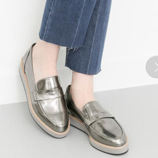 ケービーエフ(KBF)のkbfプラットフォームローファー(ローファー/革靴)