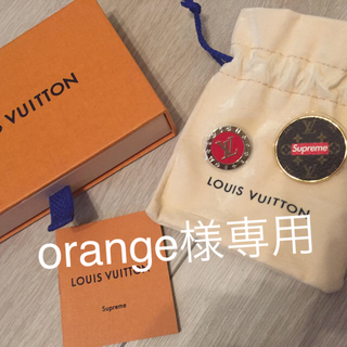 LOUIS VUITTON - 新品 Louis Vuitton×Supreme バッジ ルイ ヴィトン