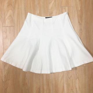 Demi-Luxe BEAMS - Demi-Luxe BEAMS(デミルクス ビームス)ウール 白 フレアスカート