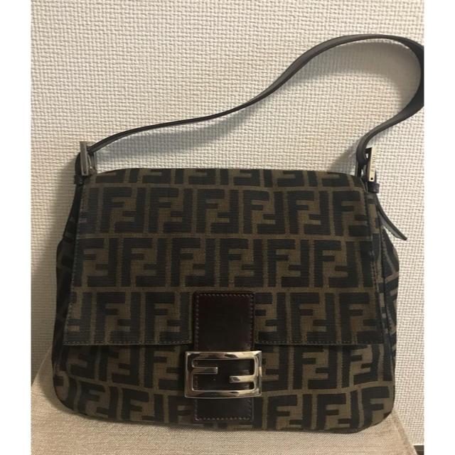 FENDI(フェンディ)のフェンディ FENDI マンマ バケット ズッカ柄 ショルダーバッグ レディースのバッグ(ショルダーバッグ)の商品写真