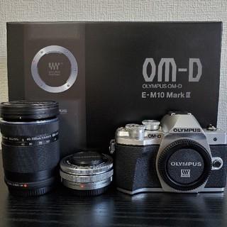 オリンパス(OLYMPUS)のOM-D E-M10 Mark3(デジタル一眼)