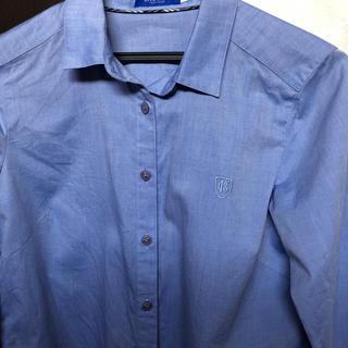 バーバリーブルーレーベル(BURBERRY BLUE LABEL)の新品同様 バーバリークレストブリッジ  シャツ 36(シャツ/ブラウス(長袖/七分))