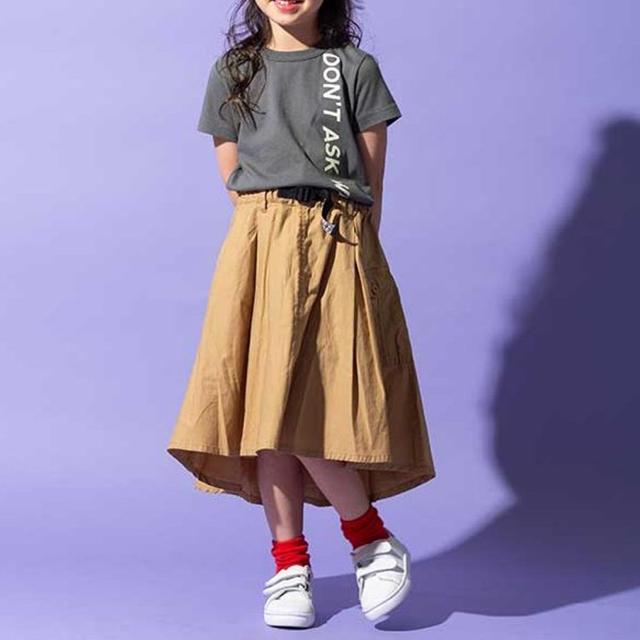 BREEZE(ブリーズ)のタテロゴ  Tシャツ キッズ/ベビー/マタニティのキッズ服 女の子用(90cm~)(Tシャツ/カットソー)の商品写真