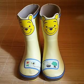 ディズニー(Disney)のプーさん長靴17㎝(長靴/レインシューズ)