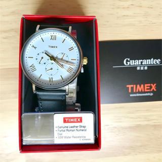 タイメックス(TIMEX)のTIMEX /(U)サウスビュー マルチ F ホワイト(腕時計(アナログ))