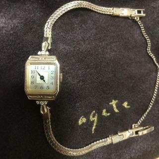アガット(agete)の【10/8まで値下げ⠀】agete 時計 腕時計 (腕時計)