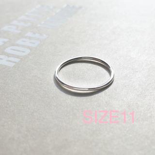 トゥデイフル(TODAYFUL)の再販【silver925】華奢なシンプルリング 《11号》シルバー925(リング(指輪))