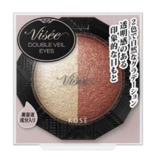 ヴィセ(VISEE)の新品未開封 visee ダブルヴェールアイズ OR-3 アイシャドウ (アイシャドウ)