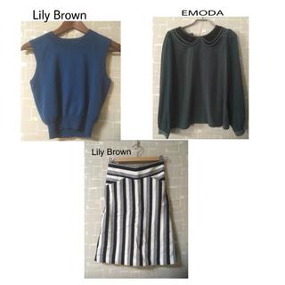 リリーブラウン(Lily Brown)のトップス&スカート セット(セット/コーデ)