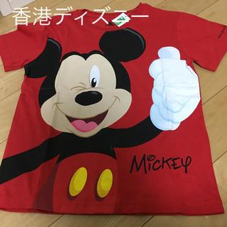 ミッキーマウス(ミッキーマウス)の新品 紙タグ付き★香港 ディズニー ミッキー Tシャツ(Tシャツ/カットソー)