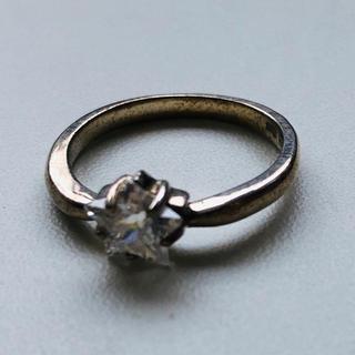 星型ストーン シルバーリング 925 11号(リング(指輪))