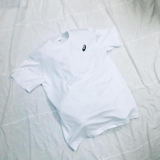 アシックス(asics)の新品 アシックス asics ジュニアサイズ 140cm 半袖Tシャツ 白(Tシャツ/カットソー)