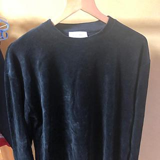 アダムエロぺ(Adam et Rope')のアダムエロペ ボア ロンT(Tシャツ/カットソー(七分/長袖))
