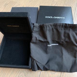 ドルチェアンドガッバーナ(DOLCE&GABBANA)のDOLCE&GABBANA 空箱 ケース(その他)