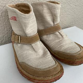 インディアン(Indian)のインディアン ショートブーツ 美品 23.5(ブーツ)