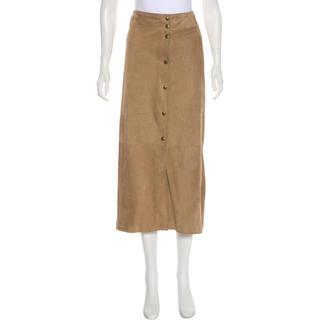 セリーヌ(celine)のセリーヌ CELINE スエードスカート(ひざ丈スカート)