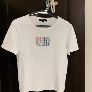 BURBERRY BLACK LABEL - Burberry スワロ付き Tシャツ