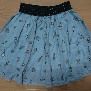 アクシーズファム(axes femme)のAxes femme ペールグリーンスカート(ひざ丈スカート)