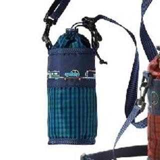 ファミリア(familiar)のファミリア ペットボトルホルダー青(水筒)