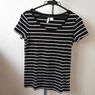 エイチアンドエム(H&M)のボーダーT(Tシャツ(半袖/袖なし))