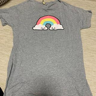 エイチアンドエム(H&M)のロングTシャツ(Tシャツ(半袖/袖なし))
