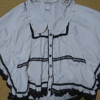 リズリサ(LIZ LISA)のLIZ LISA ポンチョ風ブラウス(シャツ/ブラウス(半袖/袖なし))