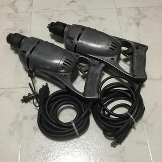 日立 10mm電気ドリル NU-DH 2台セット(工具/メンテナンス)