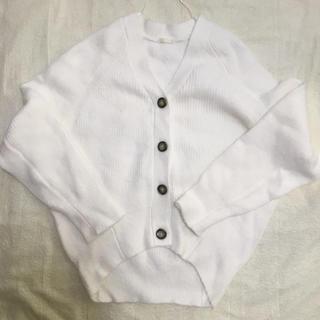 GU - GU コクーンカーディガン ホワイト