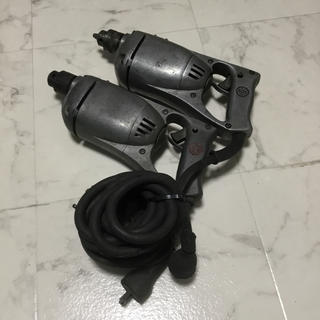 日立 6.5mm電気ドリル LUH3 LUH3B 2台セット(工具/メンテナンス)