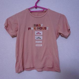 ピンクハウス(PINK HOUSE)のピンクハウス スモーキーピンク Tシャツ 【送料込み】(Tシャツ/カットソー)