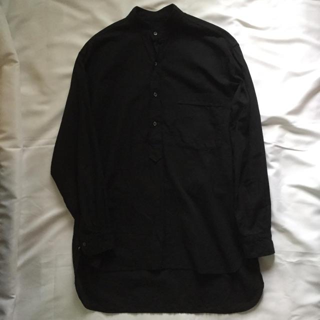 COMOLI(コモリ)の19ss comoli サイズ1 ベタシャンプルオーバーシャツ コモリ メンズのトップス(シャツ)の商品写真