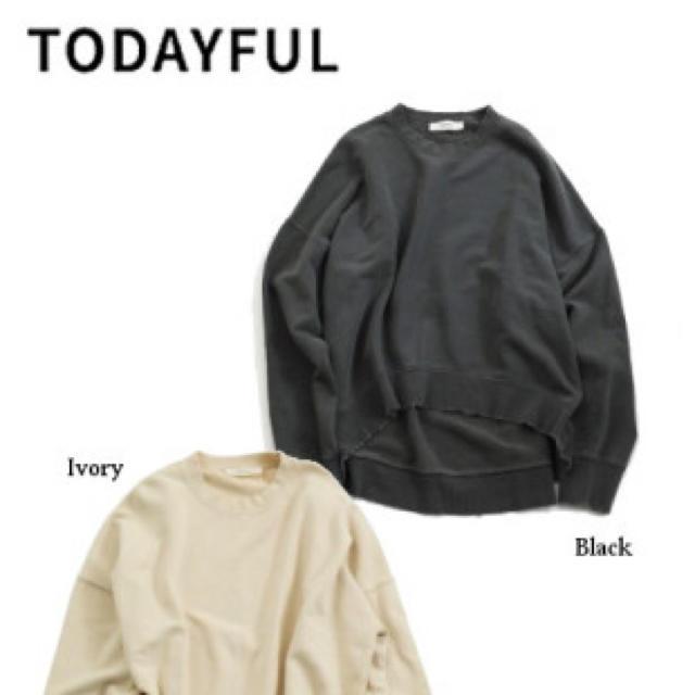 TODAYFUL(トゥデイフル)のヴィンテージ スウェット  新品タグ付き レディースのトップス(トレーナー/スウェット)の商品写真