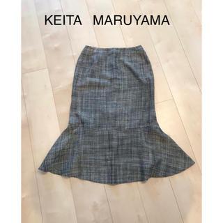ケイタマルヤマ(KEITA MARUYAMA TOKYO PARIS)のKEITA MARUYAMA スカート  (ひざ丈スカート)