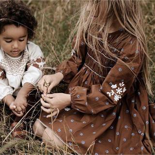 キャラメルベビー&チャイルド(Caramel baby&child )のapolina  ワンピース 2-3y(ワンピース)