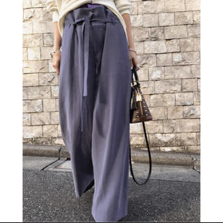 アメリヴィンテージ(Ameri VINTAGE)のAmeri𓇼WAIST LAYERED PANTS(その他)