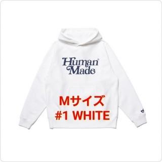 ジーディーシー(GDC)のGDC PIZZA HOODIE GDC #1 WHITE / M(7)(パーカー)