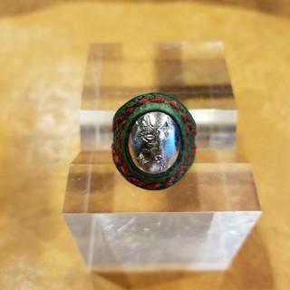 パトリックコックス(PATRICK COX)のninesixty シルバーレザーリング(リング(指輪))