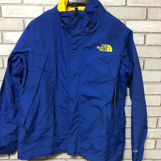 THE NORTH FACE - THE NORTH FACE キッズ ナイロンパーカー ブルー×イエロー