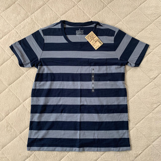 MUJI (無印良品) - 《新品》無印良品 ボーダー半袖Tシャツ