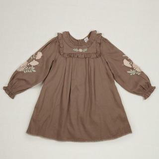 キャラメルベビー&チャイルド(Caramel baby&child )のDIANA DRESS- FAWN apolina kidsワンピース(ワンピース)