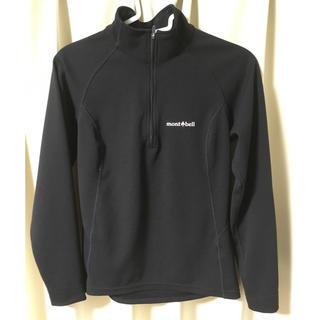 モンベル(mont bell)のmont-bell  ウイックロンZEOサーマルロングスリーブジップシャツ 黒(Tシャツ(長袖/七分))