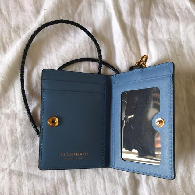 JILLSTUART NEWYORK(ジルスチュアートニューヨーク)のジルスチュアート ブラック プチダイヤモンド カードケース パスケース レディースのファッション小物(パスケース/IDカードホルダー)の商品写真